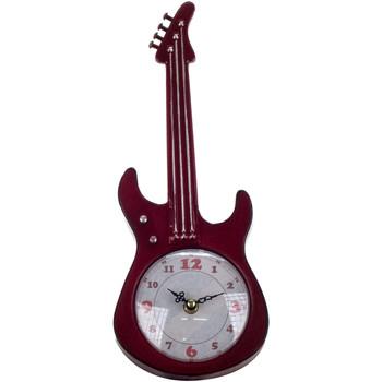 Home Uhren Signes Grimalt Tisch Clock Gitarre Rojo