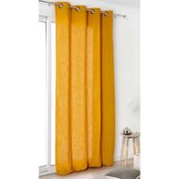 Home Vorhänge, Jalousien Linder TOILE ASP.LIN Gelb / Orange