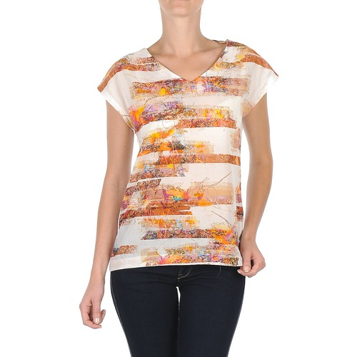T-Shirts & Poloshirts TBS JINTEE Weiss 350x350
