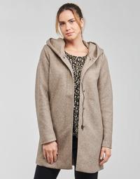 Kleidung Damen Mäntel Only ONLSEDONA Braun