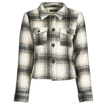 Kleidung Damen Jacken / Blazers Only ONLLOU Naturfarben / Schwarz