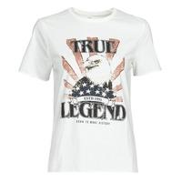 Kleidung Damen T-Shirts Only ONLLUCY Weiss