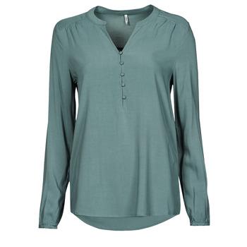 Kleidung Damen Tops / Blusen Only ONLNEW EDDIE Grün