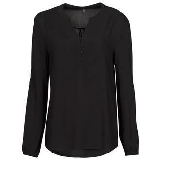 Kleidung Damen Tops / Blusen Only ONLNEW EDDIE Schwarz