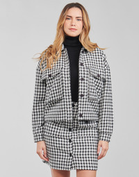 Kleidung Damen Jacken / Blazers Moony Mood PABLAINCOURS Schwarz / Weiss