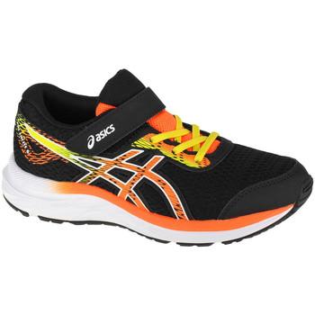 Schuhe Kinder Laufschuhe Asics Pre Excite 6 PS Schwarz