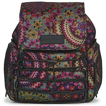 Taschen Damen Rucksäcke Desigual BACK_MYWAY HELSINKI MEDIUM Multicolor