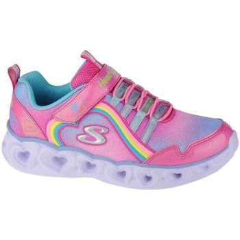 Schuhe Mädchen Fitness / Training Skechers Heart Lights Rainbow Lux Rosa