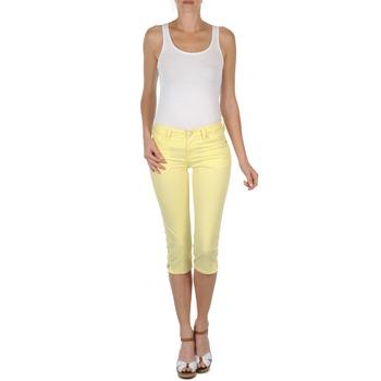 Kleidung Damen 3/4 Hosen & 7/8 Hosen Mustang Jasmin cropped Gelb