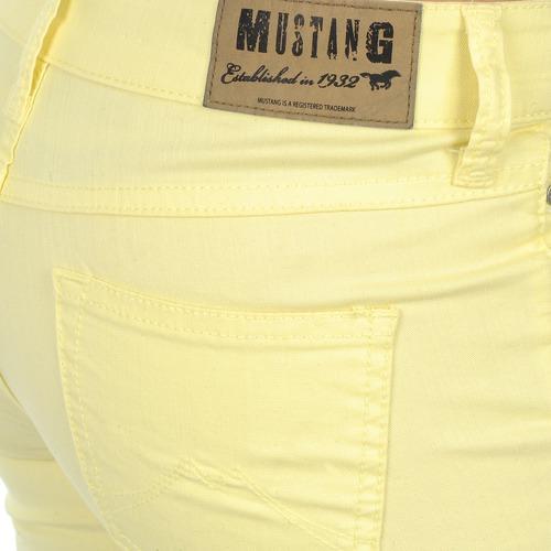 Mustang Jasmin cropped Gelb