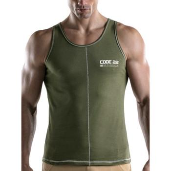 Kleidung Herren Tops Code 22 Rush Tank Top Code22 Lavendel