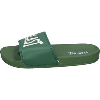 Schuhe Damen Pantoletten Everlast BH236 Grün