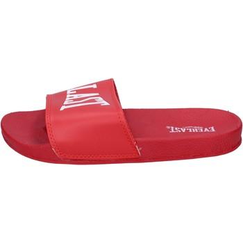 Schuhe Damen Pantoletten Everlast BH237 Rot