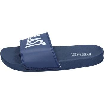 Schuhe Damen Pantoletten Everlast BH238 Blau