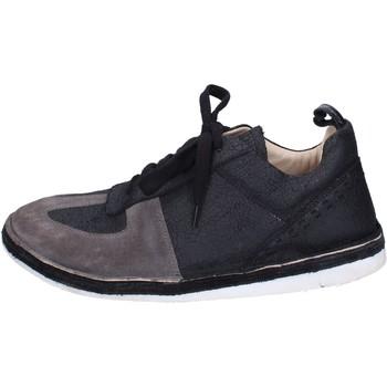 Schuhe Herren Derby-Schuhe Moma BH259 Schwarz