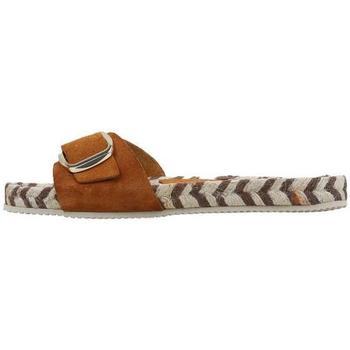 Schuhe Damen Pantoffel Senses & Shoes  Beige