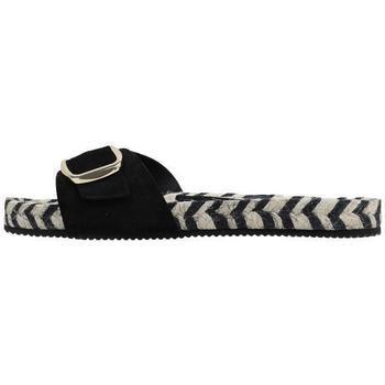 Schuhe Damen Pantoffel Senses & Shoes  Schwarz
