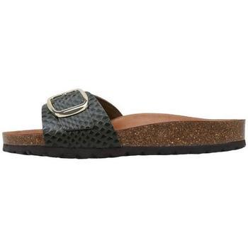 Schuhe Damen Pantoffel Senses & Shoes  Kaki