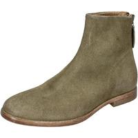 Schuhe Damen Low Boots Moma BH302 Grün