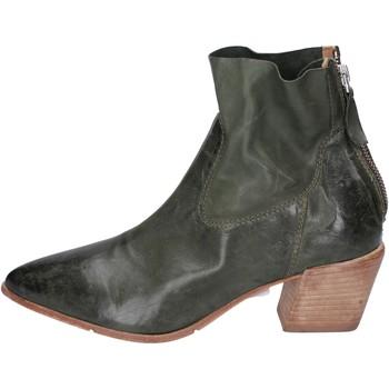 Schuhe Damen Low Boots Moma BH308 Grün