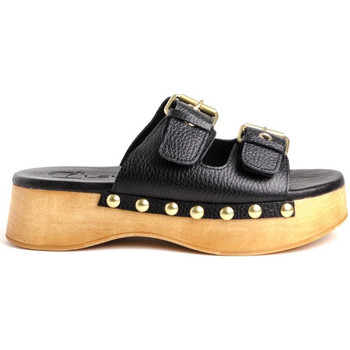 Schuhe Damen Pantoffel Claudia WODD Braun