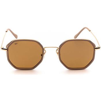 Uhren & Schmuck Sonnenbrillen Sunxy Leucade Gold
