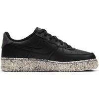 Schuhe Kinder Sneaker Low Nike Air Force 1 M2Z Schwarz