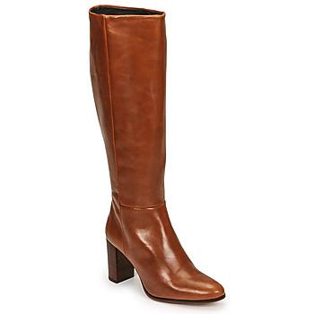 Schuhe Damen Klassische Stiefel Fericelli PACHA Braun