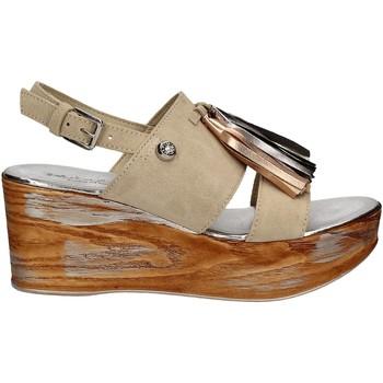 Schuhe Damen Sandalen / Sandaletten Byblos Blu 672213 Beige