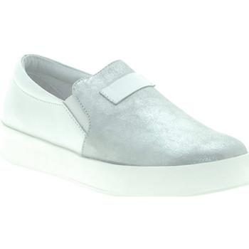 Schuhe Damen Slip on Mally M007 Weiß