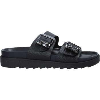 Schuhe Damen Pantoffel Apepazza S1SOFTWLK03/LEA Schwarz