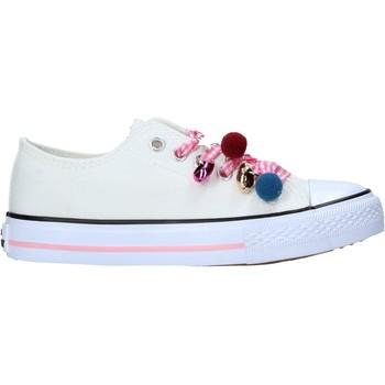 Schuhe Kinder Sneaker Miss Sixty S21-S00MS911 Weiß