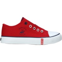Schuhe Kinder Sneaker Low Beverly Hills Polo Club S21-S00HK535 Rot