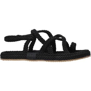 Schuhe Damen Sandalen / Sandaletten Sara Lopez SLS21 Schwarz