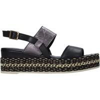 Schuhe Damen Sandalen / Sandaletten Bueno Shoes 21WS5200 Schwarz