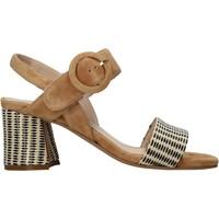 Schuhe Damen Sandalen / Sandaletten Carmens Padova 45107 Braun