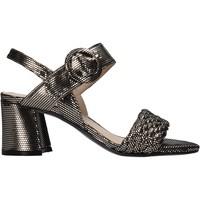 Schuhe Damen Sandalen / Sandaletten Carmens Padova 45109 Schwarz