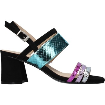 Schuhe Damen Sandalen / Sandaletten Carmens Padova 45069 Schwarz