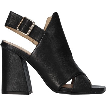 Schuhe Damen Sandalen / Sandaletten Carmens Padova 45059 Schwarz