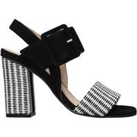 Schuhe Damen Sandalen / Sandaletten Carmens Padova 45108 Schwarz