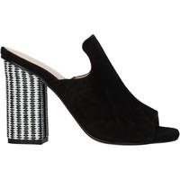 Schuhe Damen Sandalen / Sandaletten Carmens Padova 41489 Schwarz