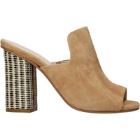 Schuhe Damen Pantoffel Carmens Padova 41489 Braun
