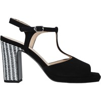 Schuhe Damen Sandalen / Sandaletten Carmens Padova 45085 Schwarz