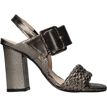 Schuhe Damen Sandalen / Sandaletten Carmens Padova 45073 Schwarz