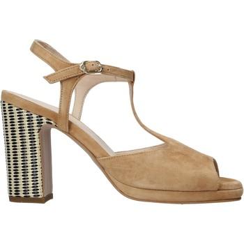 Schuhe Damen Sandalen / Sandaletten Carmens Padova 45085 Braun