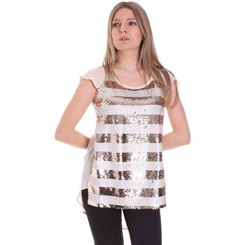 Kleidung Damen Tops / Blusen Gaudi 111BD45033 Gold