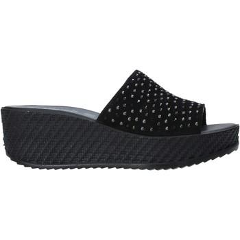 Schuhe Damen Pantoffel Enval 7280000 Schwarz