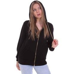 Kleidung Damen Sweatshirts Cristinaeffe 4960 Schwarz