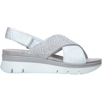 Schuhe Damen Sandalen / Sandaletten Enval 7283511 Grau