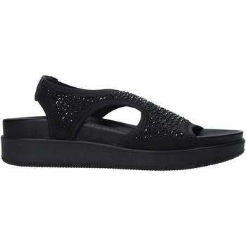 Schuhe Damen Sandalen / Sandaletten Enval 7281300 Schwarz